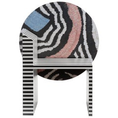 Memphis Inspired Chair Neo Laminati Collection