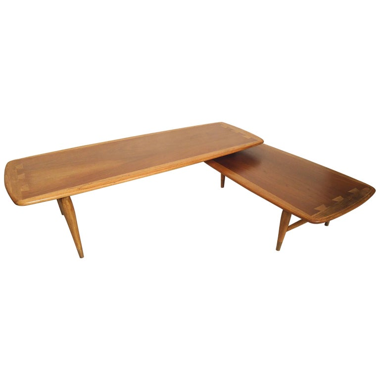 Mid-Century Boomerang Table by Lane For Sale