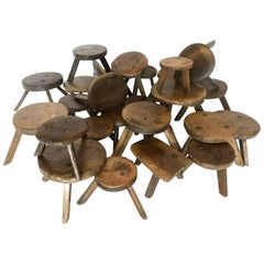 19th Century Milking Stools