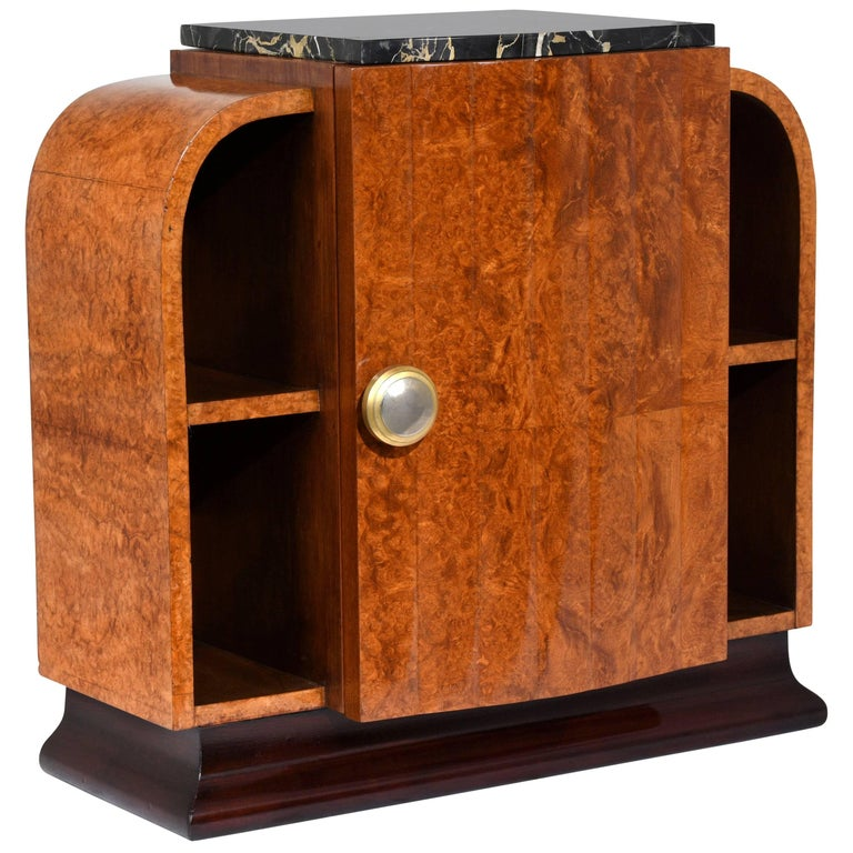 Unique French Art Deco Nightstand