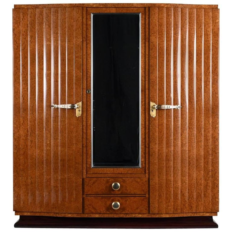 French Art Deco Armoire at 1stdibs