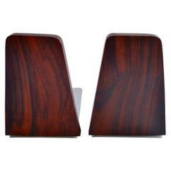 Rosewood Bookends by Kai Kristiansen, 1950s, Denmark