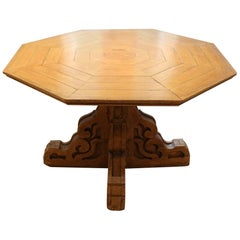 19th Century Folk Art Center Table