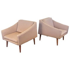 Pair of Modern Club Chairs