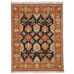 Persian Sultanabad, 1970s Vegetable Dye Wool Rug