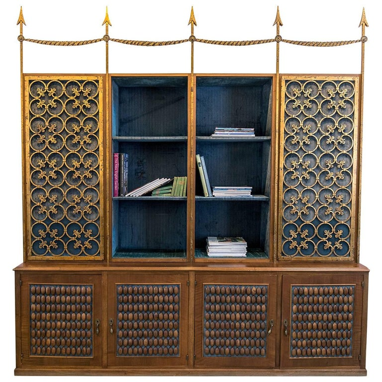 Library bookcase from ava gardner 39 s paris apartment for for Gardner storage