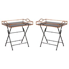 Adnet Style Tray Table