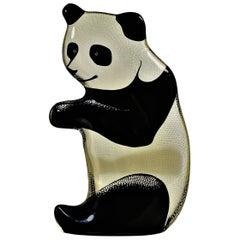 Abraham Palatnik Lucite Panda Bear Sculpture