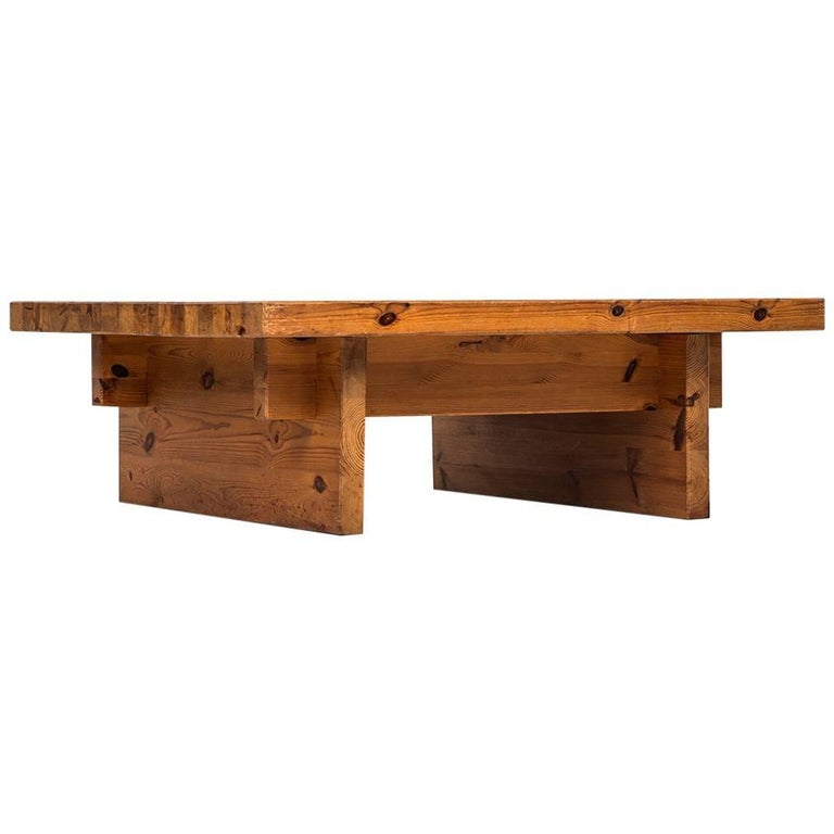 Glass Top Coffee Table From Karl Andersson: Roland Wilhelmsson Coffee Table In Pine By Karl Andersson
