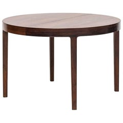 Ole Wanscher Dining Table in Rosewood by A.J. Iversen in Denmark