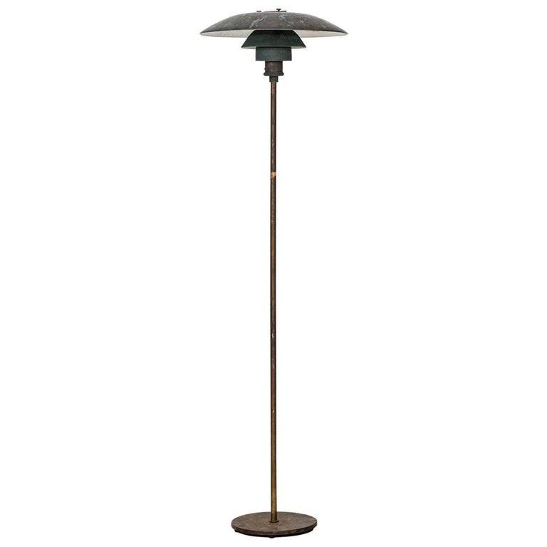 Poul Henningsen Floor Lamp by Louis Poulsen in Denmark