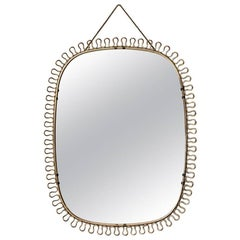 Josef Frank Mirror by Svenskt Tenn in Sweden