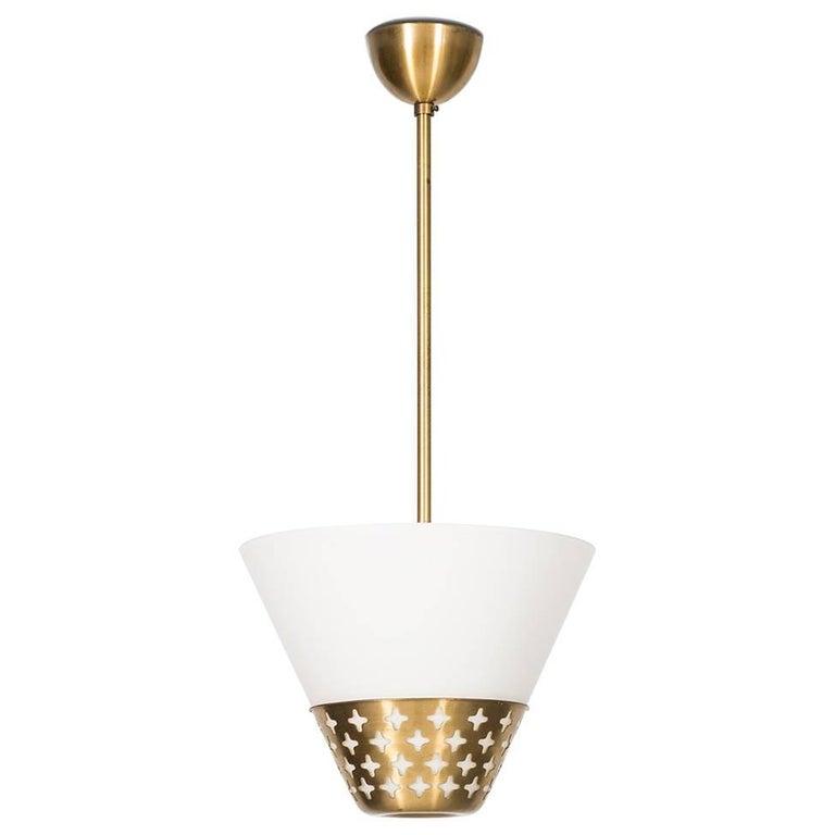 Hans Bergström Ceiling Lamp by Ateljé Lyktan in Sweden
