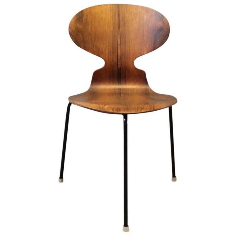 the ant chair model 3101 by arne jacobsen and fritz hansen 1950s for sale at 1stdibs. Black Bedroom Furniture Sets. Home Design Ideas