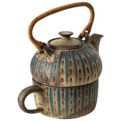 Margrethe Dybdahl Teapot Produced in Denmark