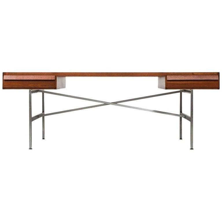 Illum Wikkelsø Desk in Teak by P. Schultz & Co. in Denmark