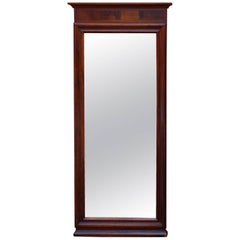 Christian the 8th Mirror in Mahogany from circa 1880s