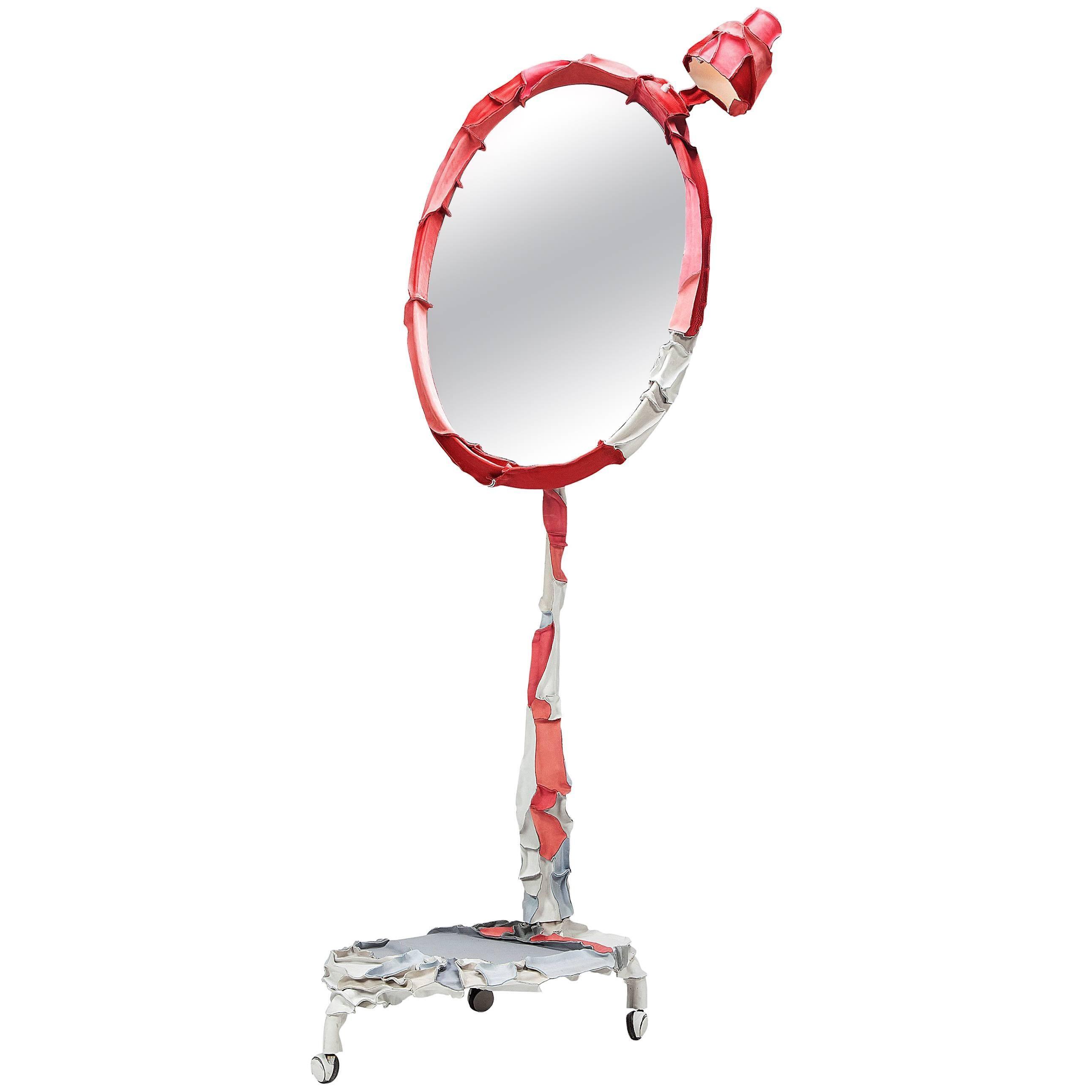 Standing Skin Mirror by Pepe Heykoop
