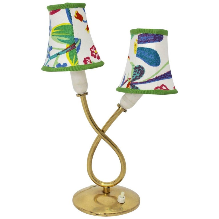 Brass Table Lamp by Josef Frank for Svenskt Tenn, 1950, Sweden