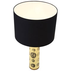 Italian 'Cameo' Table Lamp by Piero Fornasetti, circa 1950
