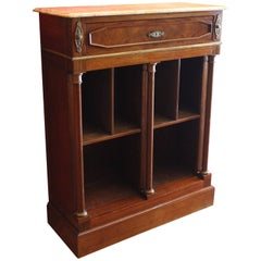 Late 19th Century Small Mahogany Bookcase or Bibliotheque