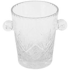 Baccarat Crystal Ice Bucket, circa 1970