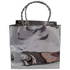 Cartier Sterling Silver Fun and Jokey Mini Shopping Bag