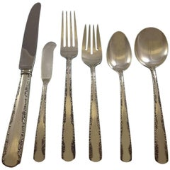 Camellia by Gorham Sterling Silver Flatware Set for Eight Service 52 Pieces