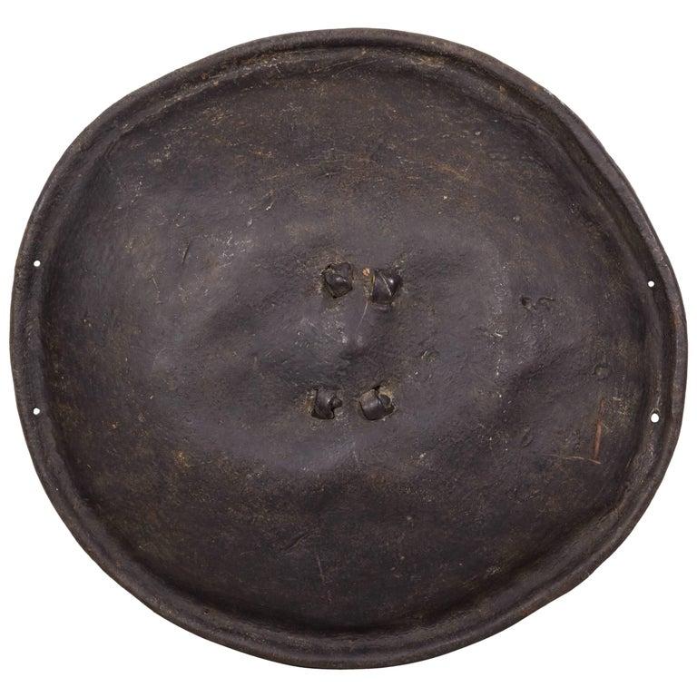 Antique Primitive Ethiopian Hide Shield For Sale
