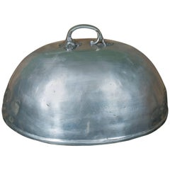 Heavy Handcrafted Belgian Pewter Cloche