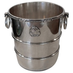 Gorham Silver Plate Champagne Cooler Ice Bucket for Becker Hotel