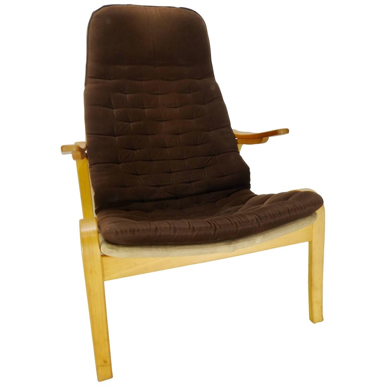 Danish Modern Lounge Chair by DUX For Sale