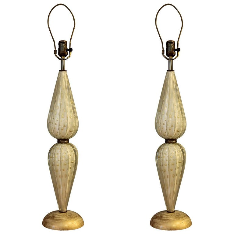 Murano Vintage Glass Lamps