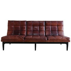 Leather Sofa by Camacho Roldan & Artecto Colombia
