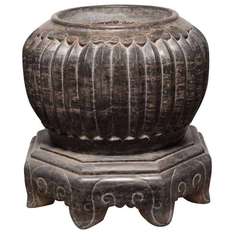 Chinese Footed Melon Basin