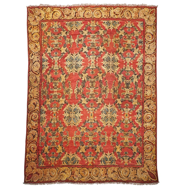 Antique Axminster Sovonerrie Rug, circa 1900