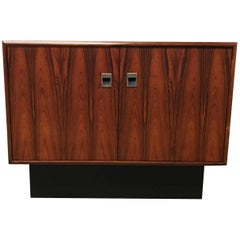 Danish Modern Rosewood Cabinet Manner of Poul Hundevad
