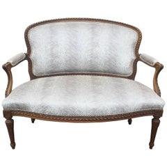 Glamorous French Louis XVI Style Settee