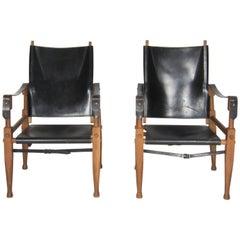 Safari Chairs Designed by Wilhelm Kienzle, Set of Two