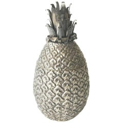 Italian 1970s Ice Bucket in the Shape of Pineapple
