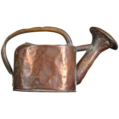 Early 19th Century French Copper Watering Can