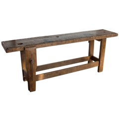 Antique French Work Bench
