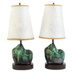 Petite Glazed Ceramic Lamps