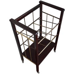 Great Shape & Condition Viennese Art Deco Magazine Rack or Stand for Sheet Music