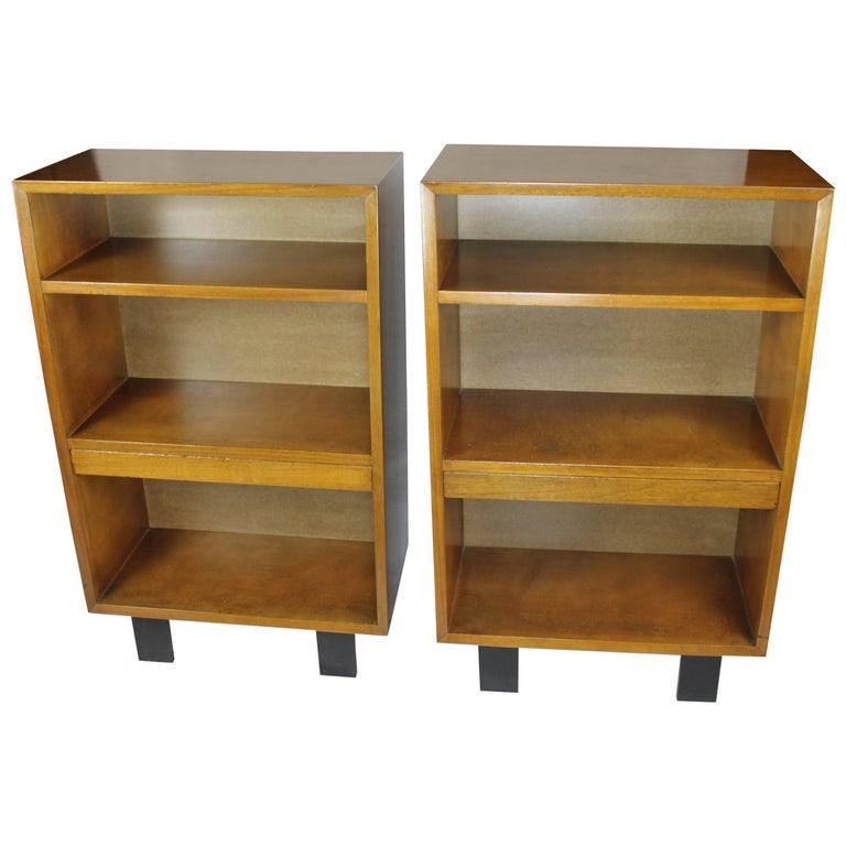Pair of George Nelson Bookcases Nightstands