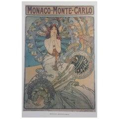 Alfons Mucha Print (after), 1980