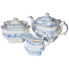 Classic English Ceramic Tea Set