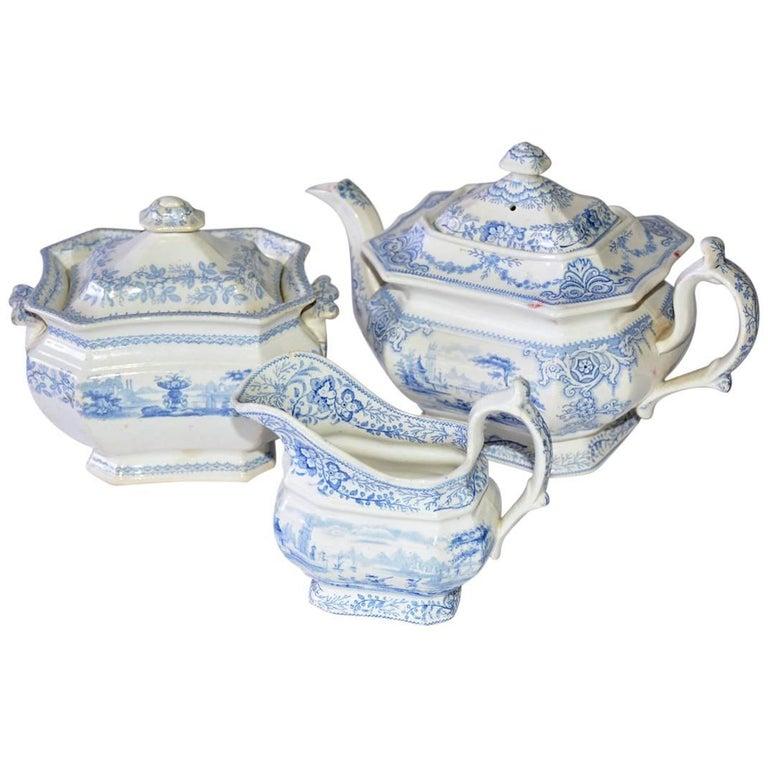 Classic English Ceramic Tea Set