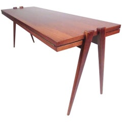 Mid-Century Expandable Dining Table by Phillip Enfield