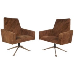 Mid Century Italian Lounge Chairs At 1stdibs